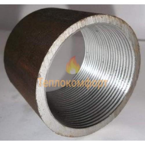 Фітинги - Муфта сталева з трубною різьбою Промдеталь Ду 15 - Фото 1