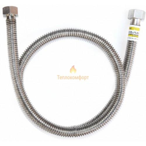 """Шланги для газа - Шланг газовый Eco-Flex Газ Стандарт d12 1/2""""×3/4"""" 60 см ВВ, ВЗ - Фото 1"""