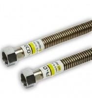 """Шланг газовий Eco-Flex Газ Стандарт d12 1/2""""×3/4"""" 80 см ВВ, ЗВ"""
