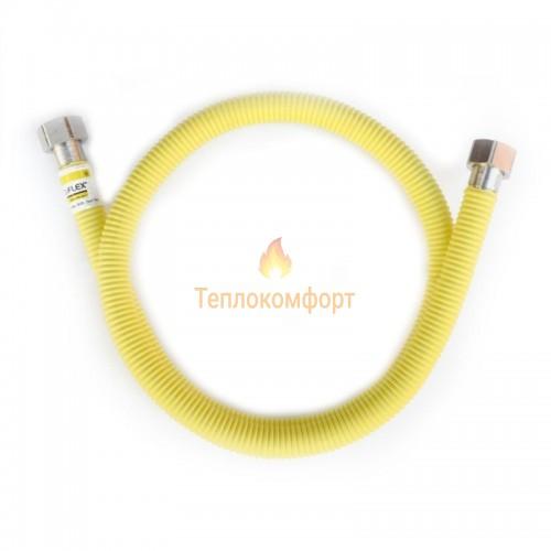 """Шланги для газа - Шланг газовый Eco-Flex Газ Супер d12 1/2""""×1/2"""" 150 см ВВ, ВЗ - Фото 1"""