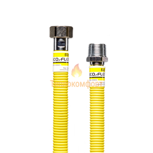 """Шланги для газа - Шланг газовый Eco-Flex Газ Супер d16 3/4""""×3/4"""" 200 см ВВ, ВЗ - Фото 2"""