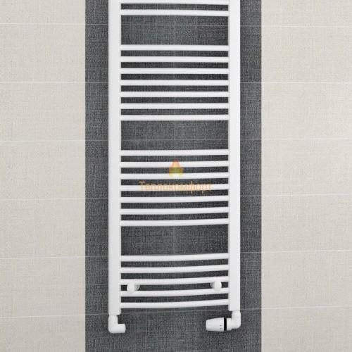 Полотенцесушители - Радиальный водяной полотенцесушитель Korado Koralux Rondo Classic 1220×595 - Фото 2
