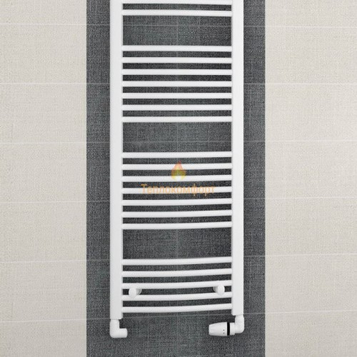 Полотенцесушители - Радиальный водяной полотенцесушитель Korado Koralux Rondo Classic 1500×595 - Фото 2