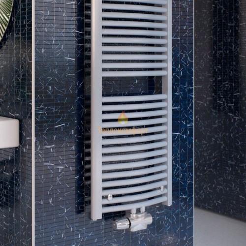 Полотенцесушители - Радиальный водяной полотенцесушитель Korado Koralux Rondo Classic-M 700×445 - Фото 2