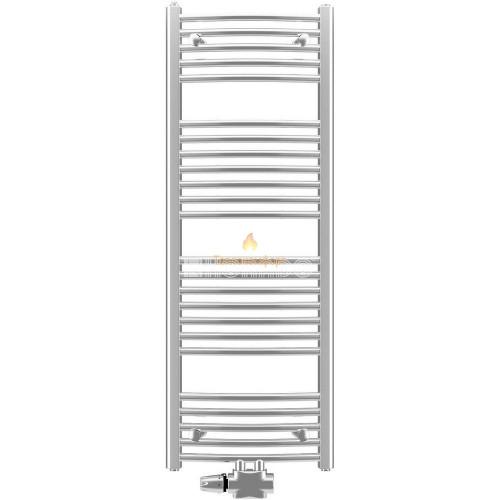 Полотенцесушители - Водяной полотенцесушитель Korado Koralux Chrom Linear Exclusive-M 1220×450 - Фото 1
