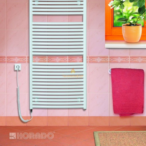 Полотенцесушители - Электрический полотенцесушитель Korado Koralux Linear Classic E 700×750 - Фото 2