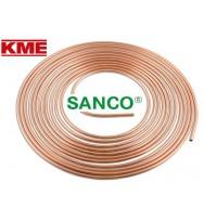 Труба мідна для опалення KME Sanco (м'яка)