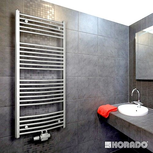 Полотенцесушители - Водяной полотенцесушитель Korado Koralux Chrom Rondo Exclusive-M 1820×750 - Фото 1