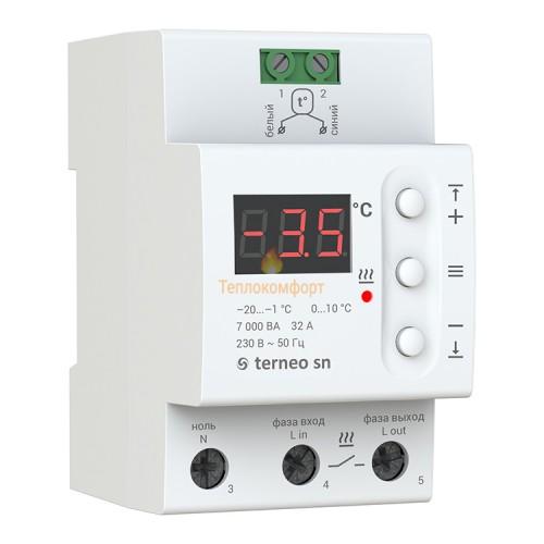 Программаторы и контроллеры - Терморегулятор для систем антиобледенения Terneo SN - Фото 1
