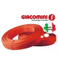 Трубы полиэтиленовые для теплого пола Giacomini Giacotherm Pe-Xb