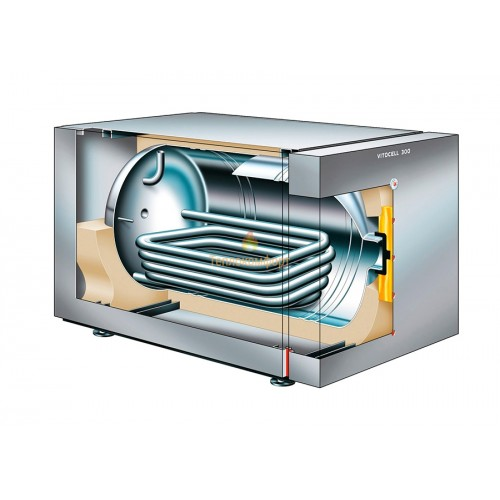 Водонагрівачі - Ємкісний накопичувальний водонагрівач Viessmann Vitocell 100-H 160 - Фото 2