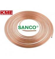 Труба мідна м'яка KME Sanco 22 × 1 мм