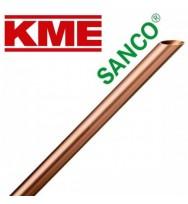 Труба мідна тверда KME Sanco 22 × 1 мм