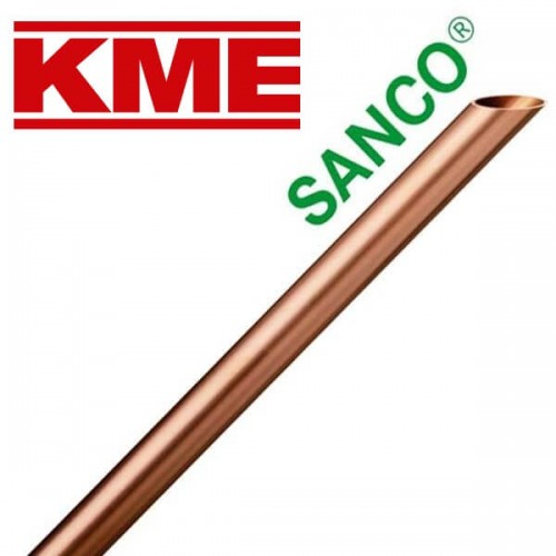 Трубы - Труба медная твердая KME Sanco 35 × 1 мм - Фото 1