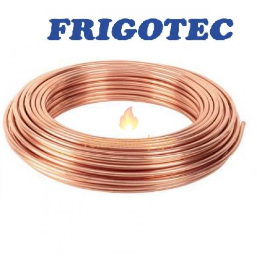 Трубы - Труба медная мягкая для кондиционеров Frigotec 15,88×0,81 - Фото 1