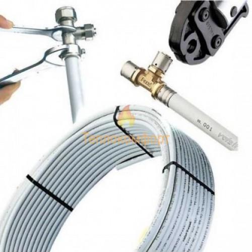 Трубы - Труба металопластиковая Sami Plastic Pexb-Al-Pexb 32×3  - Фото 1