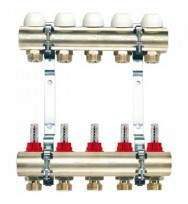 "Колекторна система Tiemme 3855X 1"" ×3/4""(12×12)"