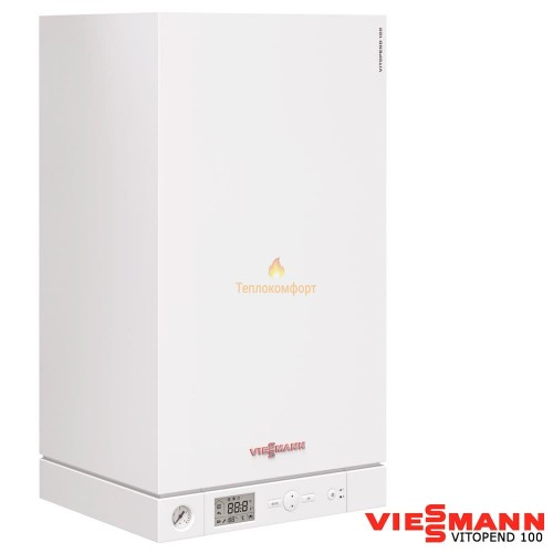 Котлы - Котел газовый двухконтурный Viessmann Vitopend 100-W A1JB 24 (турбо) - Фото 1
