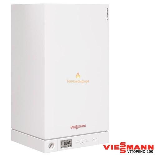 Котлы - Котел газовый двухконтурный Viessmann Vitopend 100-W A1JB 34 (турбо) - Фото 1