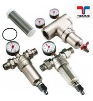 Магистральный фильтр для воды Tiemme (самопромывной фильтр)