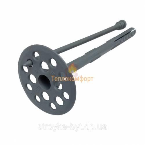Крепления - Дюбель для крепления теплоизоляции Столит ТД (серый) 10×90 - Фото 1