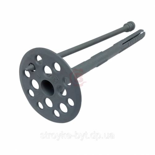 Крепления - Дюбель для крепления теплоизоляции Столит ТД (серый) 10×140 - Фото 1