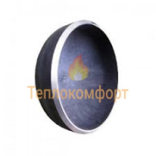 Фітинги - Заглушка еліптична сталева Промдеталь 42×2 - Фото 1