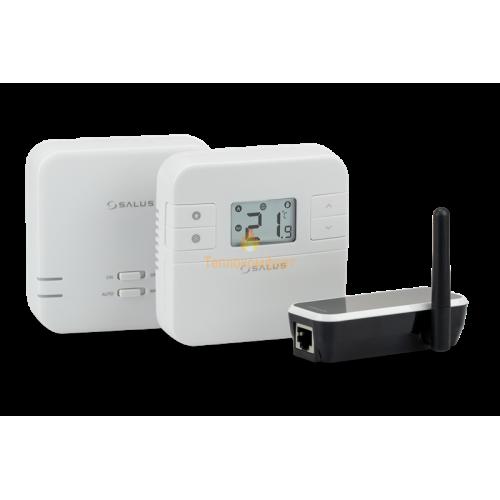 Программаторы и контроллеры - Суточные интернет-термостаты Salus RT310i (Wi-Fi) - Фото 2