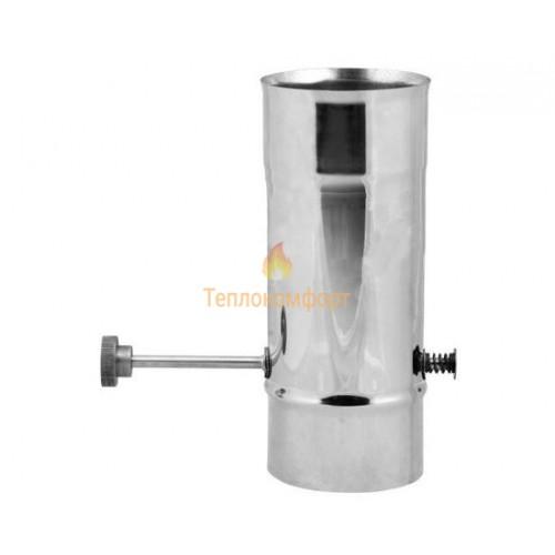 Опалення - Кагла димохідна Premium Mono AISI 321 0,8 мм ᴓ 110 Тепло-Люкс - Фото 1