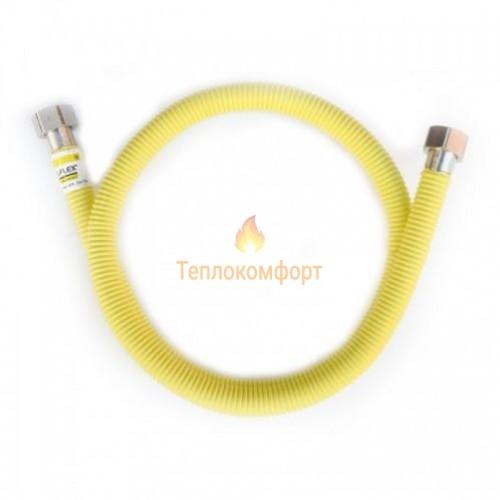"""Шланги для газу - Шланг газовий Eco-Flex Газ Супер d16 3/4""""×3/4"""" 40 см ВВ, ВВ - Фото 1"""