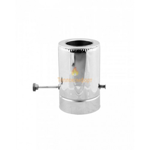 Отопление - Кагла дымоходная Premium Termo AISI 321 0,8 мм, нерж/оц, ᴓ 230/300 Тепло-Люкс - Фото 1