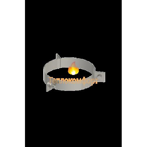 Отопление - Хомут дымоходный усиленный для крепления 1 мм, нерж, ᴓ 400/460 Тепло-Люкс - Фото 1
