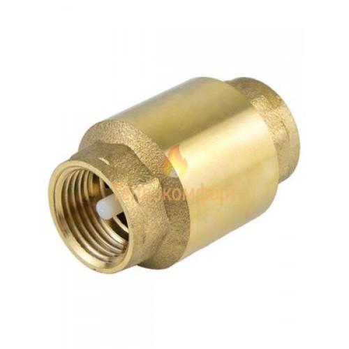 Фитинги - Клапан обратный муфтовый Ду 20 ВВ (пластиковий шток) - Фото 1