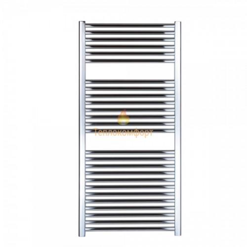 Полотенцесушители - Прямой водяной полотенцесушитель Digisu 600×1200 (хром) - Фото 1