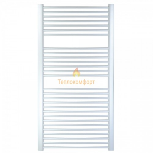 Полотенцесушители - Радиальный водяной полотенцесушитель Digisu 500×800 (белый) - Фото 1