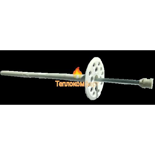 Крепления - Дюбель для крепления теплоизоляции Столит ЛИМ (белый) 10×140 - Фото 1