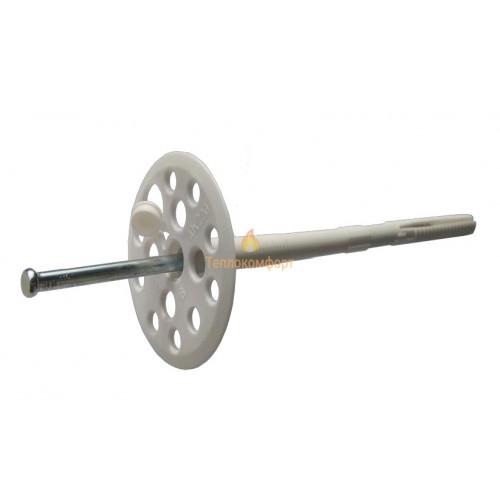 Кріплення - Дюбель для теплоізоляції Століт ЛІК (білий) 10×100 - Фото 1