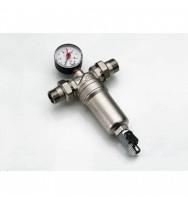 """Магістральний фільтр для води Tiemme 3130N, 3/4""""×1"""" ВР, ЗР"""