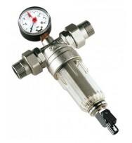 """Магистральный фильтр для воды Tiemme 3136N, 1/2""""×3/4"""" ВР, НР"""